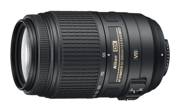 Обектив Nikon AF-S DX Nikkor 55-300mm f/4.5-5.6G ED VR